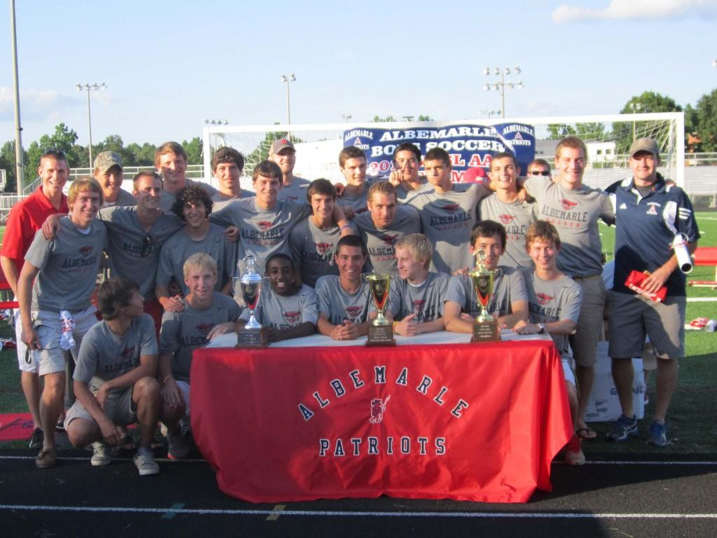 2012 Soccer State Champions