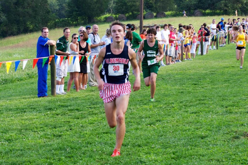 Junior Ryan Thomas placed 2nd during the Ragged Mountain Cup on Aug. 28.