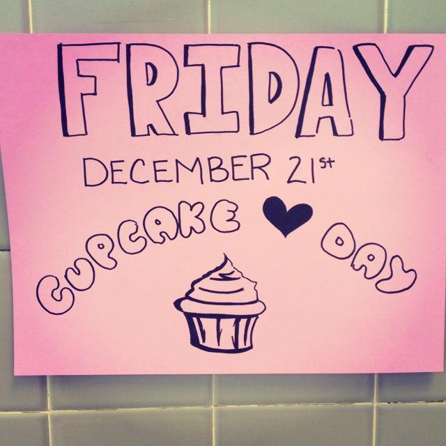 Spreading the love through cupcakes