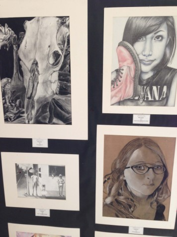 Student Art Abounds Around Town