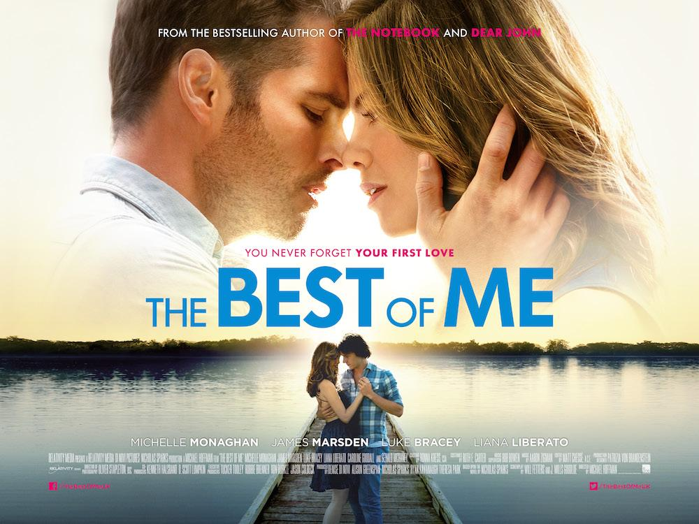 The Best of Me hit theaters on Thursday, October 17.