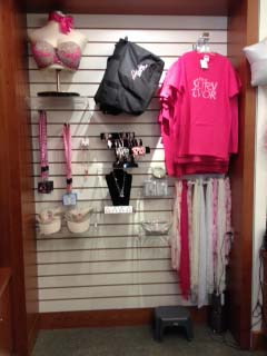 The Breast Cancer Wall in Flourish is displayed throughout the month of October.
