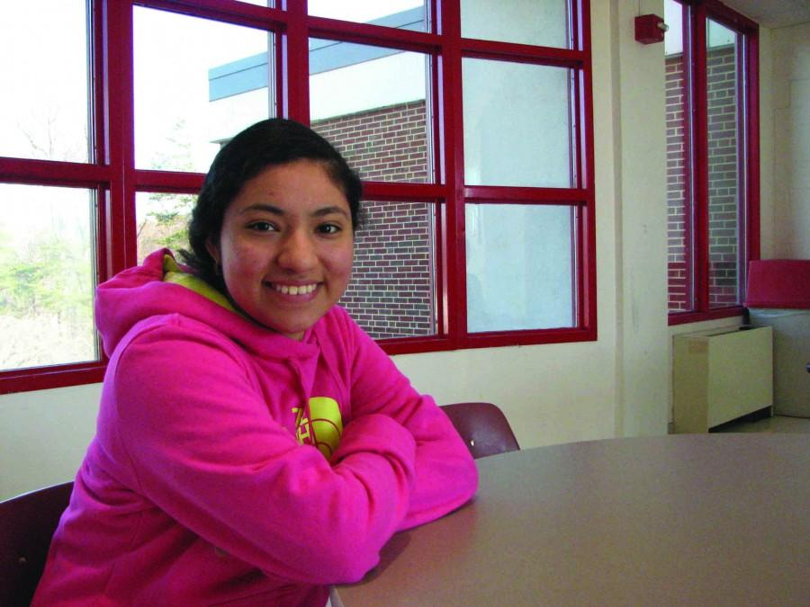Senior Keyri Lopez immigrated to the United States from El Salvador 10 years ago. Lopez has found her path to success through the AVID program and dreams of becoming an ESOl teacher to promote education for all.