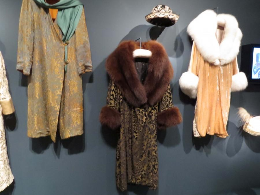 Coat worn by Shirley MacLaine on Downton Abbey.