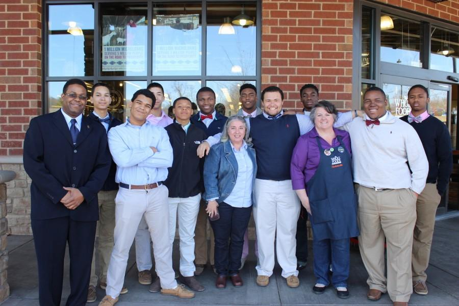 The African American Scholars Alliance group at Whole Foods Market