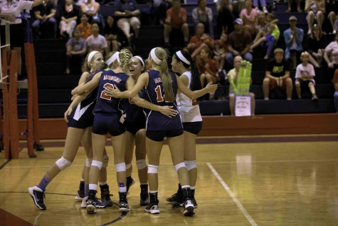 Albemarle Volleyball Sweeps Flucos