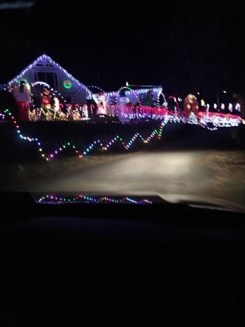 Holiday Lights Tour Around Charlottesville