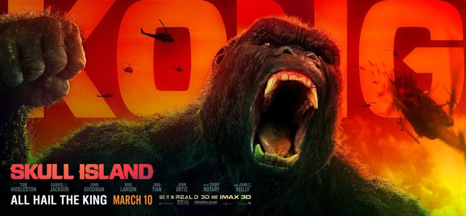 Kong: Skull Island beats it's chest to a box office success.