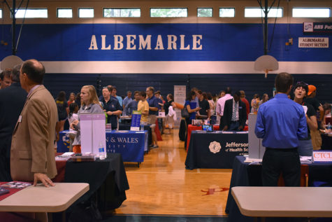 Counseling Department Hosts College Fair for Seniors