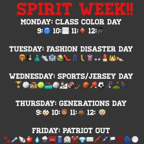 Spirit Week: What's Going Down