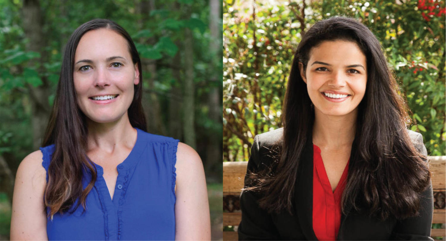 Mary McIntyre and Katrina Callsen are both running for the Rio District seat on the School Board.