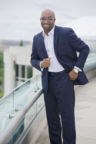 Author Kwame Alexander to Visit Friday