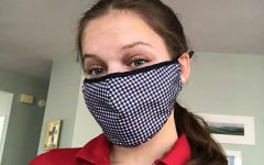 Sophomore Sadie Hathaway gets ready to work a shift at Chick-Fil-A. Usually working between 18-22 hours a week, Hathaway has had to find a balance between her job and school.